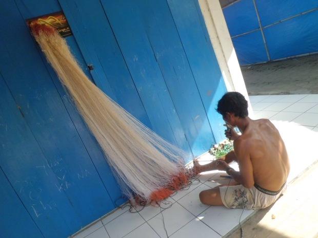 Knitting Fishing Net